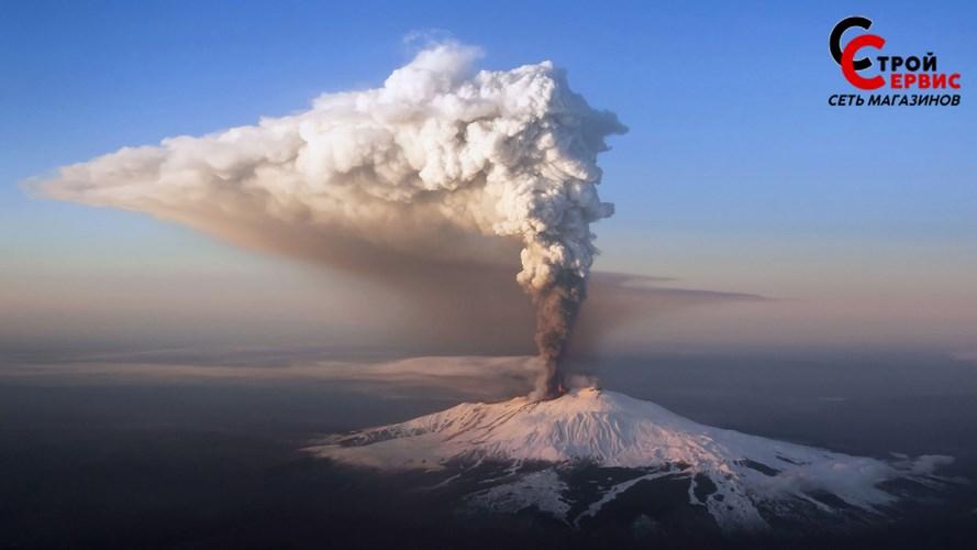 Вулкан просыпается.