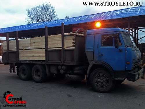 Доставки строительных материалов камазом в Клину и Солнечногорске