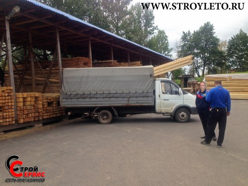 Доставки строительных материалов газелью в Клину и Клинском районе