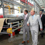 Губернатор в Нижнем Новгороде на открытии супер завода в России. Фото 2.