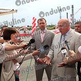 Губернатор в Нижнем Новгороде на открытии супер завода в России. Фото 3.